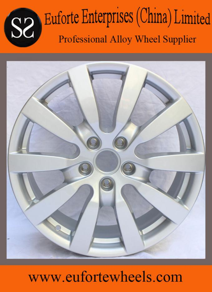 Roulette wheel car rims