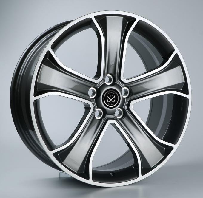 2-piece Forged Wheels Brushed 21 Inch Alloy Rims For Mercedes Benz C63 Alloy Rims