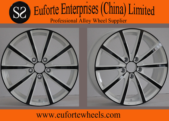 China Sport Tuning Wheels 18 inch With Black Electrophoresis Car Wheel Rims supplier