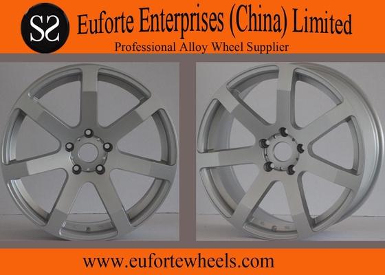 China 18 inch Silver Tuning Lightweight Car Wheels / Custom Wheel Rims supplier