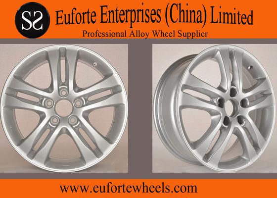 China 5 Hole Silver Aluminum Honda Replica Wheels 18 inch For CRV 55 ET supplier