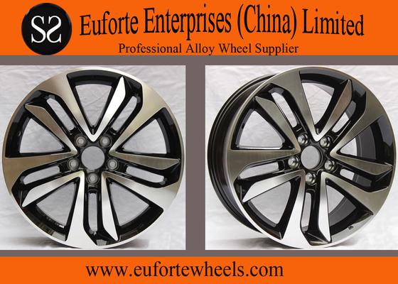 China Honda Replica 18 inch alloy wheels Black Machine Face For CROSSTOUR supplier