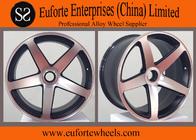 China Matt Black Machined Virtual Custom Wheels Forged Auto Wheels TUV factory