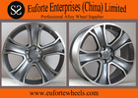 "China Gun Metal Machine Face European Wheel Small Roulette Wheel 20"" 22"" factory"