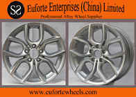 "China BMW X3 17"" hyper silver replica aluminum alloy wheels 120 mm PCD factory"