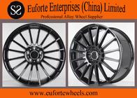 China C63 Gloss Black Oem Mercedes Benz Wheels Replica Aluminum Wheels Rims / Wheels factory
