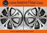 China Tiguan Replica 19 Inch Black Aluminum Wheels Rims / Replica Wheels For Volkswagen factory