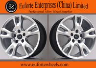 China 20 Inch Black Machined European Wheel Replica Car Alloy Wheels / Car Wheel Rim factory