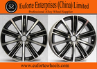 China 18 Inch Gun Metal Machined European Wheel OEM Cap Aluminum Alloy A356.2 factory