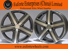 China TOUARGE Replica European Wheel 18 Inch Black Machined Replica Wheels For Volkswagen factory