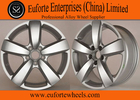China 17 Inch Silver Volkswagen Aluminum Off Road Wheels 7.0 Inch Width Standard factory