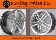 "China Light Weight  Audi S5 Replica Wheels 18"" Hyper Silver With Aluminum Alloy factory"