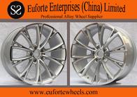 """China Professional A8L Audi Replica Wheels 19"""" Hyper Silver Machine Face factory"""
