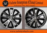 China 17inch European Wheel Black Machine Face / TIGUNA Off Road wheel factory