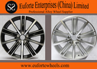 China 18 inch Black Machine Face  European Wheel, 17 inch Aluminum Alloy Wheel Rims For Tiguna factory