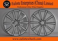 China 17 inch ElegantStylingWheels White With Black Electrophoresis After Market Wheels factory