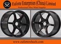 China 17 inch Black Machine Elegant  Tuning Wheels With Aluminum Alloy factory