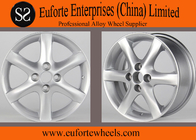 China Aluminum Alloy 15 inch Silver Colour toyota corolla alloy wheels in stocks factory