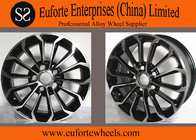 China 15inch Toyota Replica Wheels For Corolla With Hyper Silver OEM Caps factory