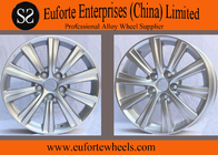 China Hyper Silver toyota camry alloy wheels / off road wheels car rims factory