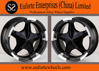 China 17inch 5 x 150 off road wheels 17 x 8 / 8J x 17 Black SUV Wheels For Toyota Tundra  Sequoia factory