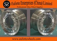 China Paint  Polished Silver Forging Truck Wheel Rim / 22.5 aluminum truck wheels factory