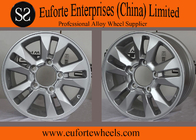 China OEM 17 inch Hyper Silve toyota aluminum rims for Land Cruiser , 16 x 8 off road wheels factory