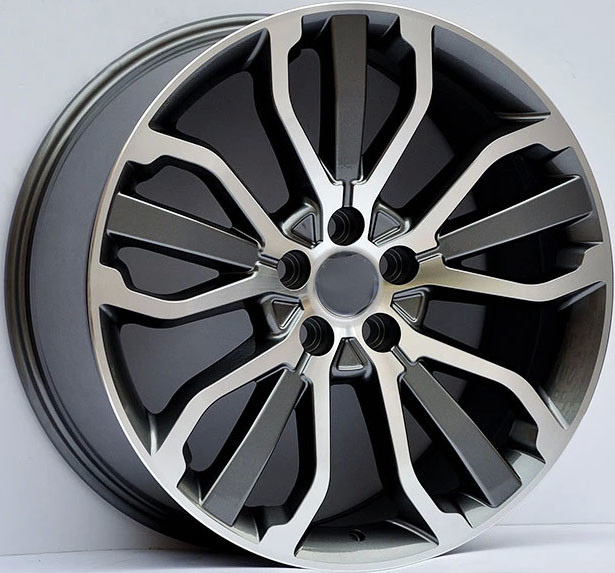 Range Rover Forged Wheels/ 22inch Gun Metal Machined 1-PC Forged Alloy Rims