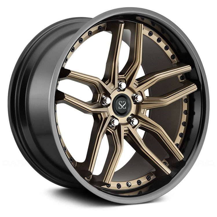 custom bronze brushed monoblock, 1-piece, 2-piece forged wheels for X5 X6 5series