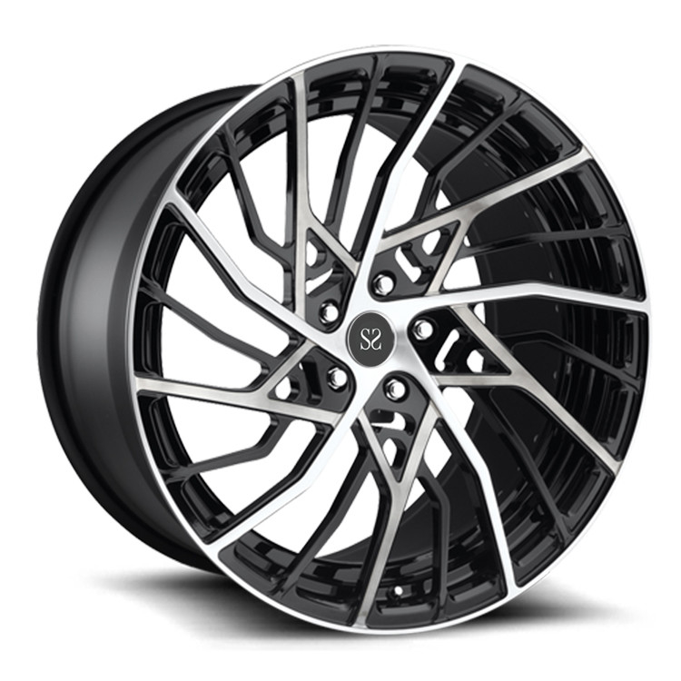 139.7mm PCD 19inch Forged Alloy Wheels For Lamborghini Aventad