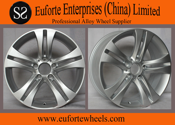 China Width 7.5 Inch Mercedes Benz Wheel Replica Aluminum Alloy Material For E280 distributor