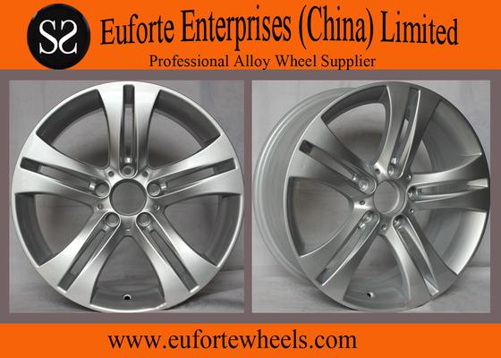 China Width 7.5 Inch Mercedes Benz Wheel Replica Aluminum Alloy Material For E280 distributor