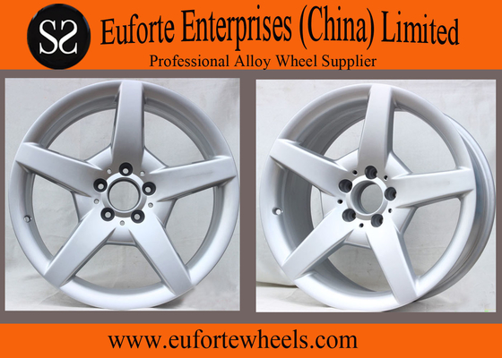 China 112mm PCD Silver Replica Mercedes Benz Wheel For SLK300L 15'' 16'' 17'' 18'' distributor