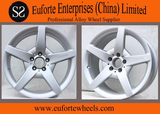 China 112mm PCD Silver Replica Mercedes Benz Wheel For SLK300L 15'' 16'' 17'' 18'' distributor