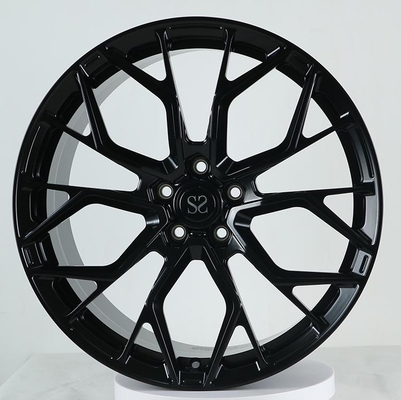China 21x10 and 21x12 Gloss Back 1 pc monoblock forged rims Ferrari Wheels factory