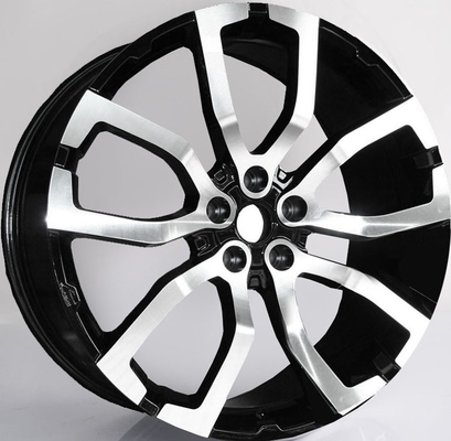 China 22inch Wheels For  Range Rover Sport/ 22inch Gun Metal Machined 1-PC Forged Alloy 5x120 Rims factory