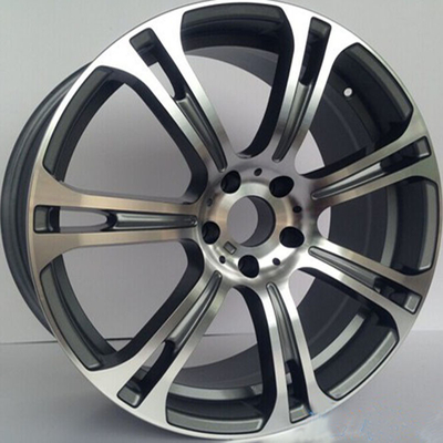 "19"" staggered Rims For BMW M6/ Gun Metal Machined Forged Alloy Rims"