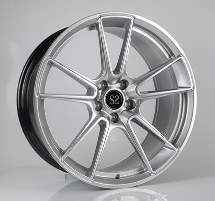 19 inch hyper silver aluminum alloy car wheel rims factory china