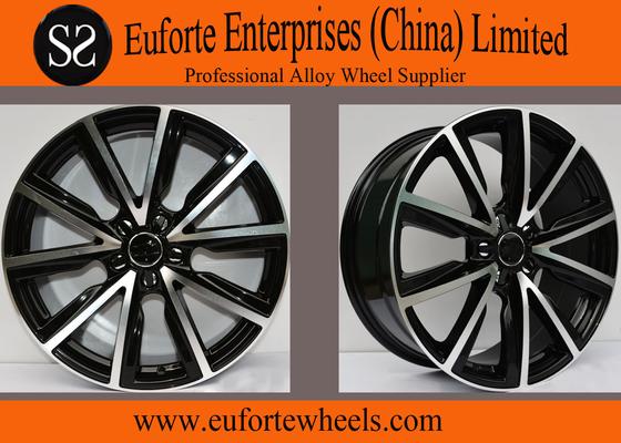 "China Auto Alloy Audi Replica Wheels For A1, 17"" Black Audi Wheels distributor"