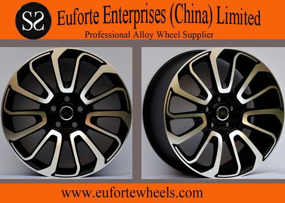 China 20inch Range Rover Sport 4x4 Off Road Wheels,Black Machine Face Replica Wheels For SUV distributor