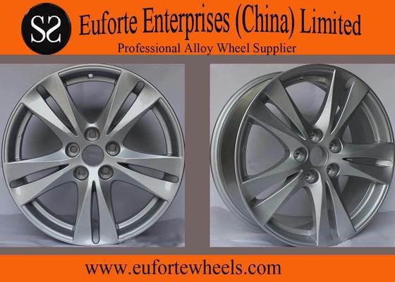 China Silver Aluminum Off road Wheels For Santa Fe , 18 inch Car Wheels distributor