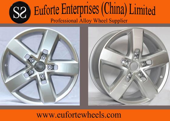 China 19inch Volkswagen Touareg Hyper Silver European Wheel 19 x 8.5 , 71.5 CB distributor