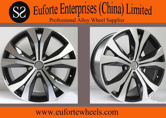 China Aluminum 19 inch 20 inch European Wheel Black Machine Face For Tiguna TOUAREG distributor