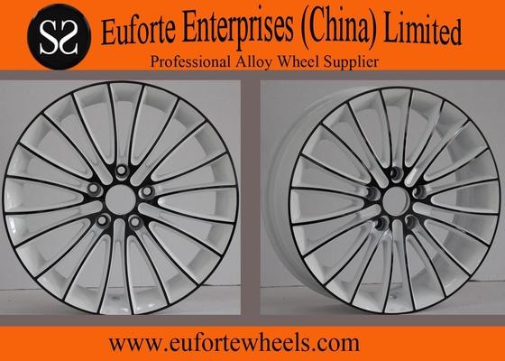 China Black Spokes AmgMercedes StyleWheels / Aftermarket Aluminum Wheels distributor