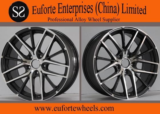 "China Blue Electrophoresis Sport Tuning Wheels , Toyota Benz  Audi 18"" wheels distributor"