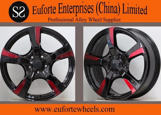 China Euro Black Aluminum Alloy Custom Off Road Wheels 19 inch 20 inch distributor