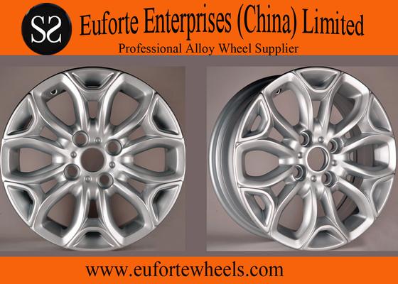 China Hyper Silver 15inch US Wheel / Replica OEM Wheels For Ecospor distributor