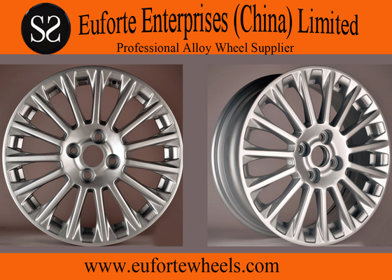China 16inch  Silver US Wheel For Fiesta , OEM Replica Wheels Rim For Ford distributor