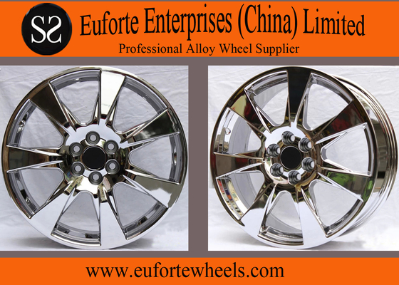 China 20inch Chrome SRX Aluminum Alloy Wheels /  Replica US Wheels distributor