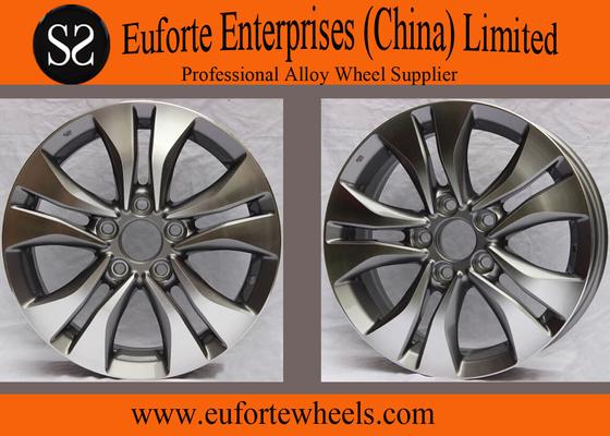 China 16inch Honda Replica Wheels Hyper Silver Machine Face For Honda Accord distributor